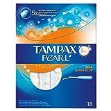 Tampax Pearl Super Plus Applikator-Tampons Geruchsneutral (18)