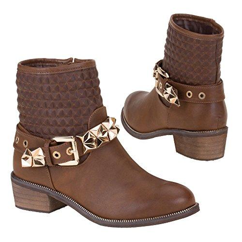 21 Stiefeletten 1 Schuhe Y Camel Damen wEz6Yf