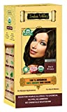 100% Organic 100% Botanical Natural Herbal Hair Dye Color Dunkelbraun für Männer und Frauen 100% frei von Chemikalien, kein PPD, kein Ammoniak, kein Peroxid und keine Schwermetalle (Dark Brown)