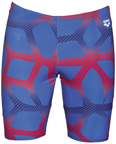 Arena Spider Jammer Blue/Red 36