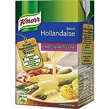 Knorr Sauce Hollandaise mit Creme Fraiche, 4er Pack (4 x 250 ml)
