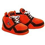 NFL Cleveland Browns 2015 Sneaker Slipper, Large, Orange