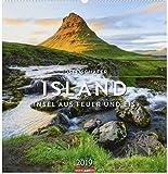 Island - Kalender 2019: Insel aus Feuer und Eis - Josef Schäfer