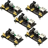 HiLetgo 5PCS module d'alimentation pour tableau de Prototype PCB universel Breadboard 5 V/3.3 V Sortie