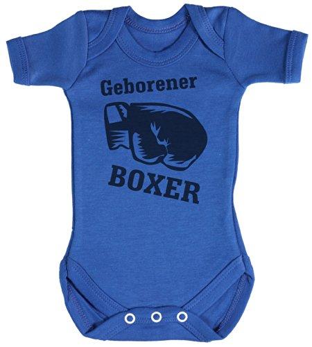 r Baby Bodys / Strampler 18-24 Monate Blau (Herren-boxer Strampelanzug)