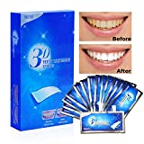 Aiooy Teeth Whitening Strips, Dental Enamel Safe Teeth Bleaching Treatment for Crystal Smile