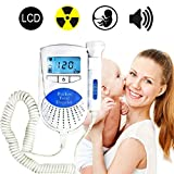 ETDSFGVDHF Pocket Baby Sounds Listener for Home Use Portable Fetal Sounds Detector