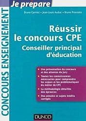 Réussir le concours CPE (Conseiller principal d'éducation)