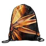 Yesliy Cool Fléchettes Awesome Unisexe extérieur Sac à dos Sac à bandoulière Sport Cordon de serrage Sac à dos