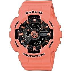 Casio Baby-G Reloj Analógico/Digital de Cuarzo para Mujer con Correa de Resina – BA-111-4A2ER