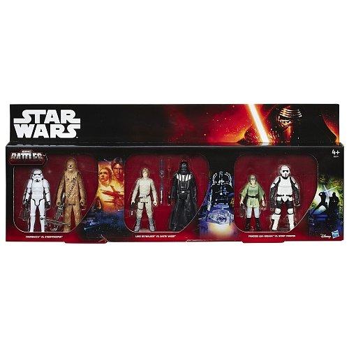 Star Wars Battle Packs Action Figures 10 cm 6-Packs Epic Battles 2015 Exclusive Assortment (6) Hasbro