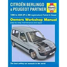 Citroen Berlingo and Peugeot Partner Petrol and Diesel Service and Repair Manual: 1996 to 2005