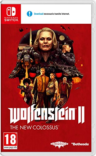Wolfenstein 2: The New Colossus (Nintendo Switch download)