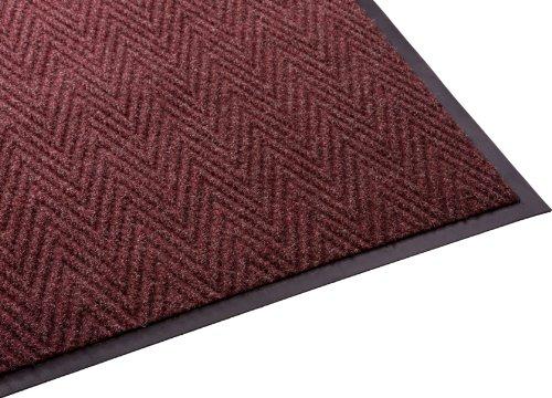 enviromats-64030535chev-golden-series-chevron-alfombra-090-x-150-rojo