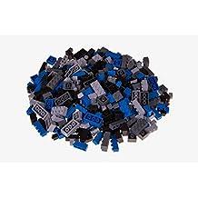 Strictly Briks - Set de ladrillos de construcción y una base - 336 piezas de 4 colores diferentes - Piezas sueltas - Compatible con todas las grandes marcas