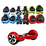 Generic Skateboard Roller Blading 6Pcs Kid Child Self Balancing Scooters Bike Roller Knee Elbow Wrist Pad Protective Gear Set (Red)
