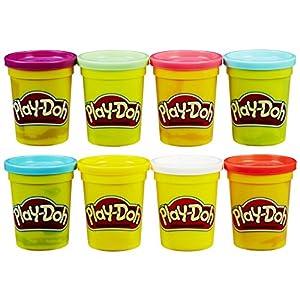 Play-Doh - Pack de 8 botes (Hasbro C3899EU4)
