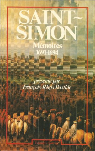 Descargar Libro Mémoires 1691 1694 tome 1 de duc de Saint-Simon Louis de Rouvroy