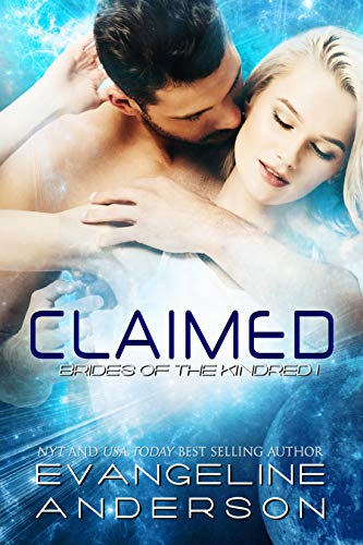 Claimed (Brides of the Kindred book 1): (Alien Warrior BBW Science Fiction Paranormal Romance) (English Edition)