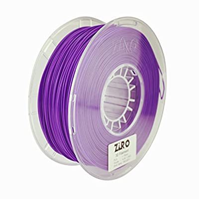 ZIRO 3D Printer Filament PLA 1.75 1KG(2.2lbs), Dimensional Accuracy +/- 0.05mm, Purple