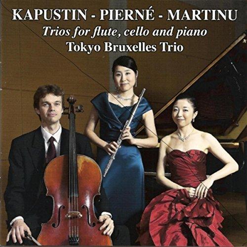 Trio for Flute Cello and Piano, Op. 86: I. Allegro molto