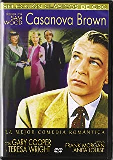 Casanova Brown (1944) - Official Region Free PAL release, plays in English without subtitles by Gary Cooper