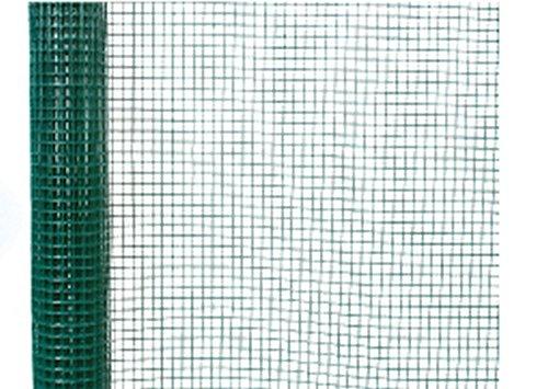 Clotures Place Volière Vert 6005 100 x 25 x 25 cm SOPVA12EH