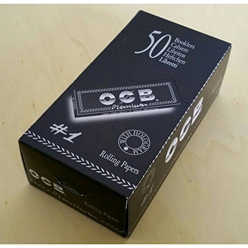 Ocb 1 scatola con carte rotante Single Premium No1, Dimensioni regolari 70mm, 2500 carte