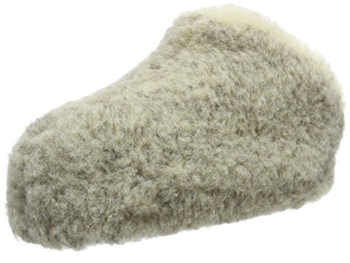 Woolsies Chapchap Natural Wool Slip-On, Pantofole Unisex - Adulto Grigio (Grigio (Grey))