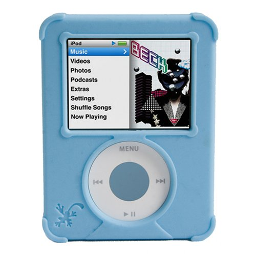 Ifrogz Nano (iFrogz nanowrapz Schutzhülle für iPod nano blau)
