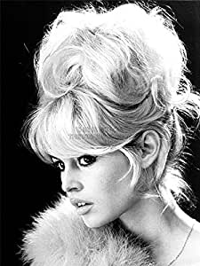 vintage photography brigitte bardot actress black white movie star 18x24 39 39 plakat poster art. Black Bedroom Furniture Sets. Home Design Ideas