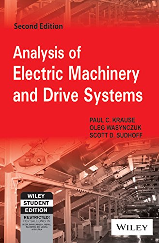 Analysis Of Electric Machinery And Drive Systems, 2Nd Ed