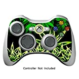 Manette Xbox 360 Peaux Jeux Xbox 360 Vinyle Autocollants Xbox 360 D¡§?calcomanies - Weeds Black