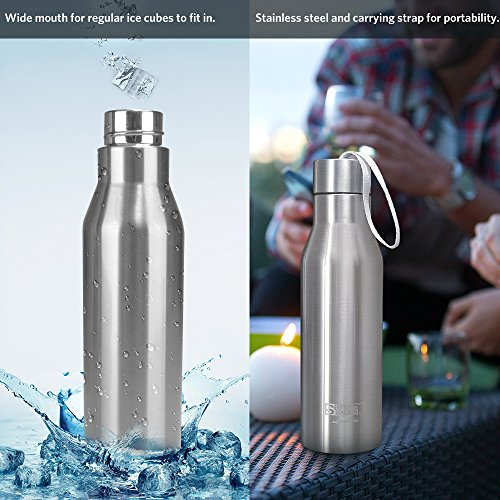 Landnics Water Bottle Stainless Steel Water Bottle Vacuum