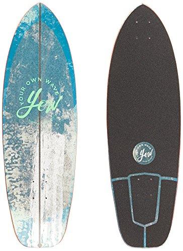 "Yow Surf Nazare Freeway Cruiser Deck Tabla de Skate, Unisex Adulto,, 32"""