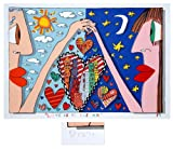 Galerie-F James Rizzi: Love is in the Air, handsigniert