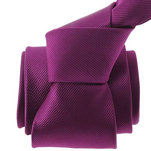 Clj Charles Le Jeune - Cravate Clj, Varese, Aubergine