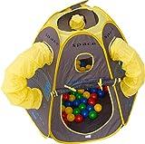 Bällebad Space-Pop-Up incl. 100 Bälle Spielzelt Spielhaus Kinderspielhaus Babybällebad Raumschiff