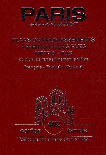 Plan-guide de Paris : Plans d'arrondissements PDF Books
