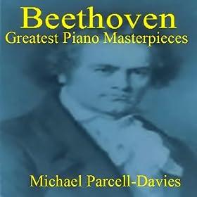 "Beethoven Piano Sonata No.14 In C Sharp Minor, Op. 27 No 2, (""Moonlight""); Second Movent"