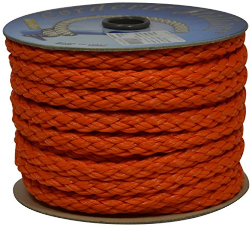 Corderie Italiane 6014942 - Licht in Seil, 00, 10 mm-20 MT, Orange, Farbe: orange -