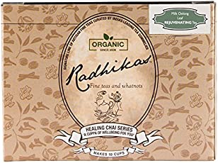 Radhikas Fine Teas and Whatnots Milk Oolong Leaf REJUVENATING Tea, 50g
