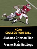 College Football, Alabama Crimson Tide - Fresno State Bulldogs, Week 2