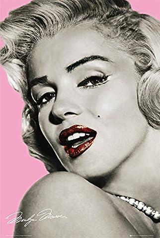 GB Eye Ltd FP2009 Maxi-Poster Marilyn Monroe, pink, 61 x 91,5 cm - Hot Pink Tatuaggi