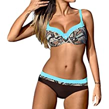 139c384abbaf Jaminy Strandmode Bikini Set Frau Bikini Badeanzug Bikini Strandkleidung  Bademode Badeanzug Bikini-Set Badeanzug