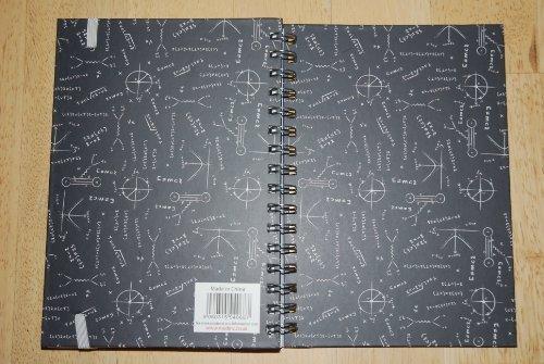 1 x Medinc Mathe / Physik A5 ringgebunden Notizbuch