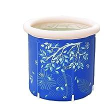 GLJYG XXSC Vasca da bagno gonfiabile Barilotto da bagno per adulti Cuscino da incasso per bambini Vasca da bagno per bambini Vasche da bagno in plastica Famiglia addensare (dimensioni : 70*70cm)