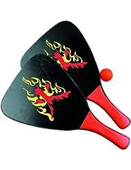 Sunflex PRO - Juego de palas y pelota para la playa