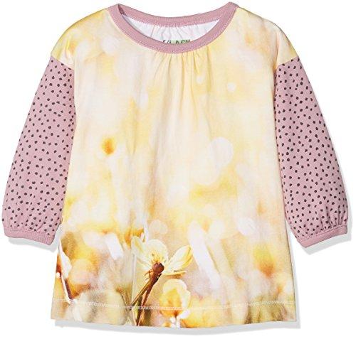 Phister & Philina Black Baby-Mädchen IRIS Anemone Organic Kleid, Mehrfarbig (Orchid Haze Orc), 92 Orchid Print Dress