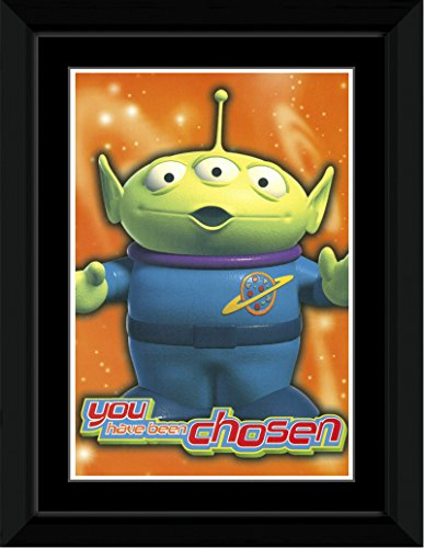 Toy Story 2 - You Have Been Chosen Framed and Mounted Print - 14.4x9.2cm